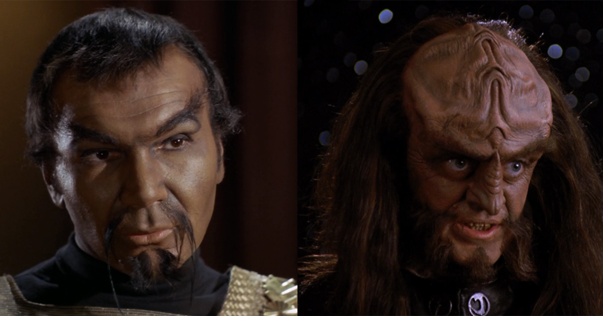Heroes and Icons | Star Trek's Klingon transformation ... Klingons Into Darkness